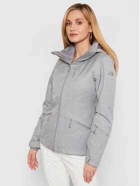 The North Face The North Face Kurtka narciarska Lenado NF0A3M5BX8A1 Szary Slim Fit