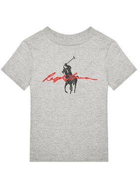 Polo Ralph Lauren Polo Ralph Lauren T-Shirt Ss Graph 323839239003 Γκρι Regular Fit
