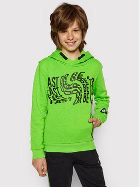 4F 4F Sweatshirt HJL21-JBLM003 Vert Regular Fit
