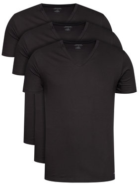 Calvin Klein Underwear Calvin Klein Underwear 3 marškinėlių komplektas 000NB4012E Juoda Classic Fit