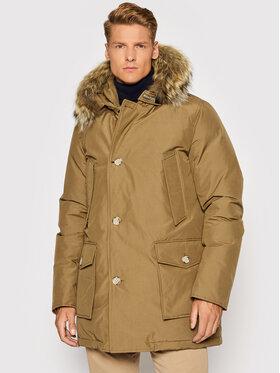 Woolrich Woolrich Zimná bunda Arctic CFWOOU0482MRUT0001 Hnedá Regular Fit