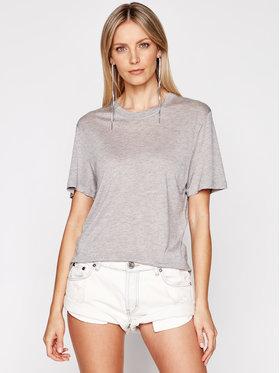 IRO IRO T-Shirt Rashel A0284 Szary Regular Fit