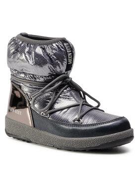 Moon Boot Moon Boot Stivali da neve Jrgirl Low Nylon Premium Wp 34052300002 D Argento