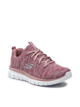 Skechers Skechers Pantofi Twisted Fortune 12614/MVE Roz