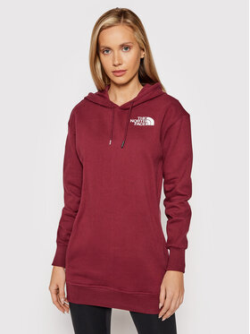 The North Face The North Face Sweatshirt NF0A55GK Dunkelrot Relaxed Fit