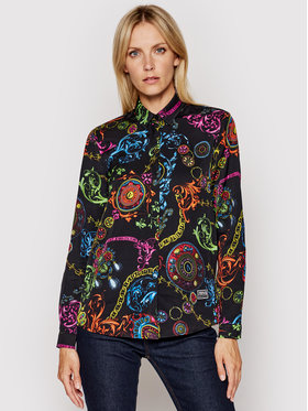 Versace Jeans Couture Versace Jeans Couture Cămașă Twill VI Print Baroque Bijoux 71HAL201 Colorat Regular Fit