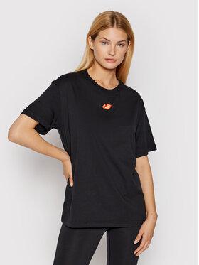 Nike Nike T-Shirt Sportswear DB9817 Černá Loose Fit