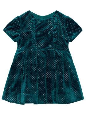 Mayoral Mayoral Elegantiška suknelė 4972 Žalia Regular Fit