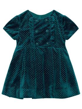 Mayoral Mayoral Elegantné šaty 4972 Zelená Regular Fit