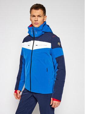 Descente Descente Kurtka narciarska Tatras DWMQGK03 Granatowy Tailored Fit