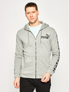 Puma Puma Pulóver Amplified Hooded Jacket Tr 581396 Szürke Regular Fit