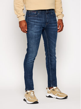 Tommy Jeans Tommy Jeans Jeansy Slim Fit Scanton DM0DM09317 Granatowy Slim Fit