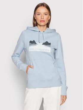 Helly Hansen Helly Hansen Sweatshirt Nord Graphic 62981 Bleu Regular Fit