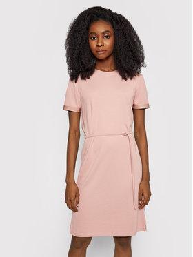 Calvin Klein Calvin Klein Hétköznapi ruha Logo Elastic K20K203021 Rózsaszín Regular Fit