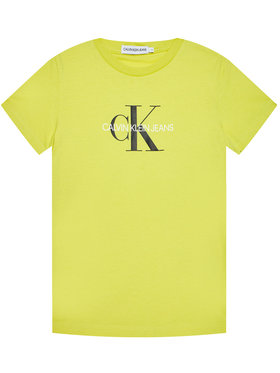 Calvin Klein Jeans Calvin Klein Jeans Tricou IU0IU00068 Galben Regular Fit