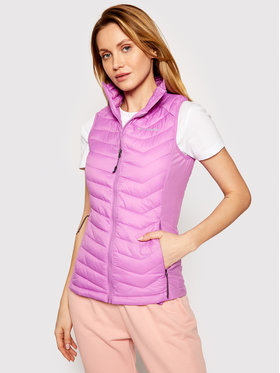 Columbia Columbia Vestă Powder Pass 1832222 Roz Regular Fit