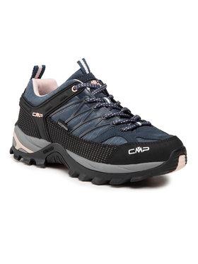 CMP CMP Trekingová obuv Rigel Low Wmn Trekking Shoe Wp 3Q54456 Tmavomodrá