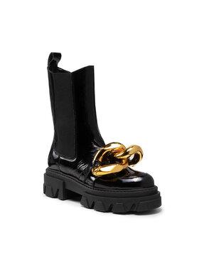Carinii Carinii Chelsea cipele B7490 Crna