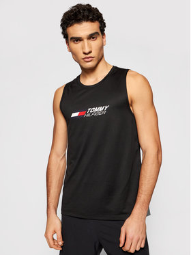 Tommy Hilfiger Tommy Hilfiger Smanicato Essentials MW0MW17229 Nero Relaxed Fit
