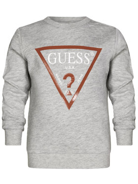 Guess Guess Bluza N73Q10 K5WK0 Szary Regular Fit