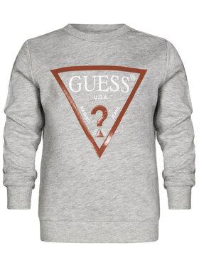 Guess Guess Μπλούζα N73Q10 K5WK0 Γκρι Regular Fit