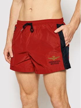 Aeronautica Militare Aeronautica Militare Pantaloncini da bagno 211BW201CT1537 Rosso Regular Fit