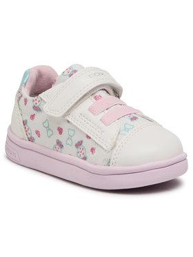 Geox Geox Sneakersy B Djrock G. A B151WA 0AW54 C1000 M Bílá