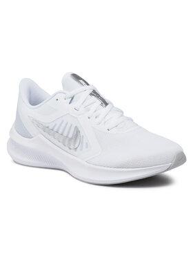 NIKE NIKE Pantofi Downshifter 10 CI9984 100 Alb