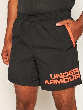 Under Armour Under Armour Спортни шорти Ua Speed Stride Graphic 18 cm 1350169 Черен Regular Fit