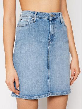 Tommy Hilfiger Tommy Hilfiger Spódnica jeansowa Rome Hw WW0WW30818 Niebieski Slim Fit