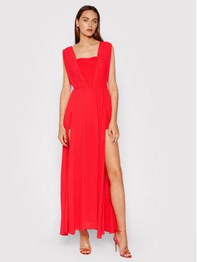 Rinascimento Rinascimento Sukienka wieczorowa CFC0103699003 Czerwony Regular Fit