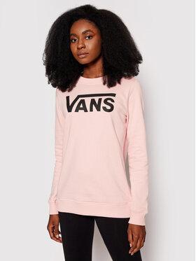 Vans Vans Bluza Classic V Crew Różowy Regular Fit
