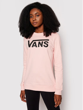 Vans Vans Світшот Classic V Crew Рожевий Regular Fit