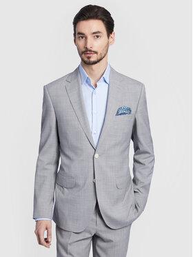 Vistula Vistula Κοστούμι Perugia VI0193 Γκρι Super Slim Fit