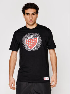PROSTO. PROSTO. T-shirt KLASYK Cesar 1031 Nero Regular Fit