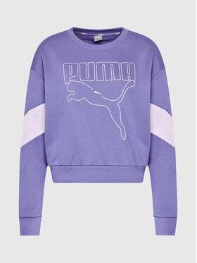 Puma Puma Світшот Rebel 585750 Фіолетовий Relaxed Fit