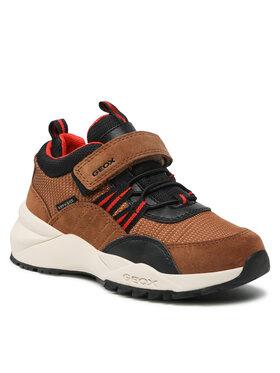 Geox Geox Sneakersy J Heevok B.B Abx A J16FBA 0FU22 C6N7V M Brązowy