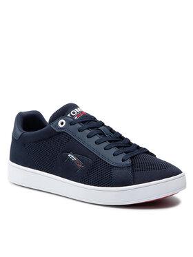 Tommy Jeans Tommy Jeans Sneakersy Cupsole Knit Tjm EM0EM00798 Tmavomodrá