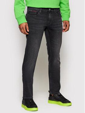 Tommy Jeans Tommy Jeans Blugi Scanton DM0DM09810 Negru Slim Fit
