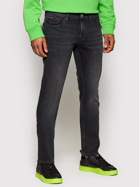 Tommy Jeans Tommy Jeans Traperice Scanton DM0DM09810 Crna Slim Fit