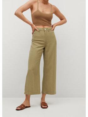 Mango Mango Pantaloni culotte Blau 87098630 Verde Regular Fit