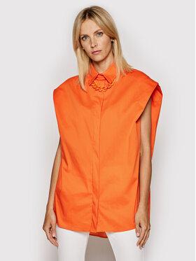 Imperial Imperial Koszula CJU2BBE Pomarańczowy Oversize