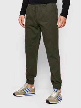 Outhorn Outhorn Spodnie materiałowe SPMC602 Zielony Regular Fit