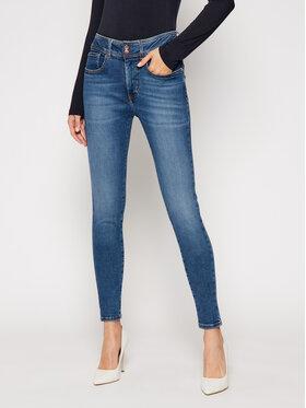 Guess Guess Jeansy Super Skinny Fit W0BA25 D46D2 Granatowy Super Skinny Fit