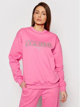 Local Heroes Local Heroes Sweatshirt Lh 2013 SS21S0037 Rosa Regular Fit