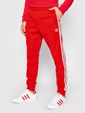 adidas adidas Donji dio trenerke adicolor Classics H06713 Crvena Slim Fit