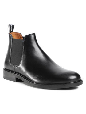 Gino Rossi Gino Rossi Kotníková obuv s elastickým prvkem MI07-A962-A791-26 Černá