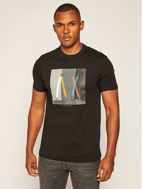 Armani Exchange Armani Exchange T-shirt 6HZTLA ZJH4Z 1200 Nero Regular Fit