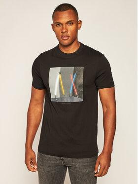 Armani Exchange Armani Exchange T-Shirt 6HZTLA ZJH4Z 1200 Schwarz Regular Fit