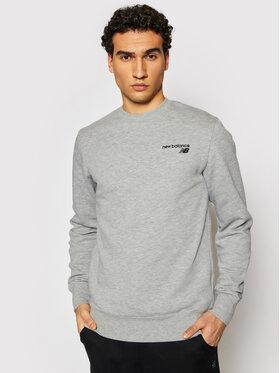 New Balance New Balance Sweatshirt CCF Crew MT03911 Grau Regular Fit